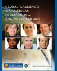Global Warming's Six Americas in March 2012 and November 2011