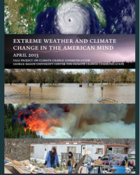 Extreme Weather and Climate Change in the American Mind: April 2013