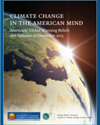 Climate Change in the American Mind: Americans' Global Warming Beliefs and Attitudes in November 2013