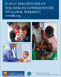 Public Perceptions of the Health Consequences of Global Warming: October 2014