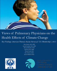 Health and Climate Change: Views of Members of the American Thoracic Society