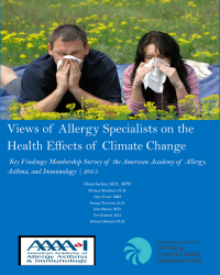 Views of Allergy Specialists on the Health Effects of Climate Change