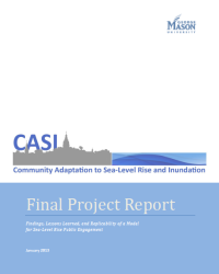 Community Adaptation to Sea Level Rise and Inundation