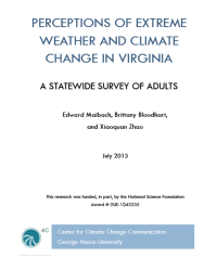 Perceptions of Extreme Weather and Climate Change in Virginia