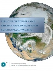 Public Perceptions of NASA and other Federal Agencies' Climate Research