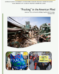 """Fracking"" in the American Mind: Americans' Views on Hydraulic Fracturing in September 2012"