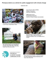 Photojournalism as a Vehicle for Public Engagement with Climate Change