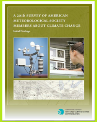 A 2016 Survey of American Meteorological Society Members About Climate Change