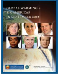 Climate Change in the American Mind: Global Warming's Six Americas in September 2012