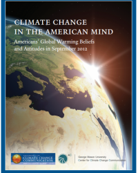 Climate Change in the American Mind: Americans' Global Warming Beliefs and Attitudes in September 2012