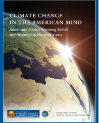 Americans' Global Warming Beliefs and Attitudes: November 2011