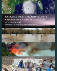 Extreme Weather and Climate Change in the American Mind: November 2013