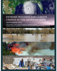 Extreme Weather and Climate Change in the American Mind: September 2012