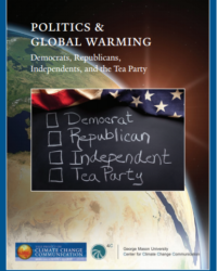 Politics & Global Warming: Democrats, Republicans, Independents, and the Tea Party