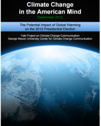 The Potential Impact of Global Warming on the 2012 Presidential Election