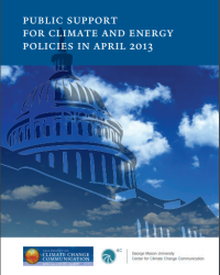 Public Support for Climate and Energy Policies: April 2013