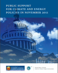 Americans' Public Support for Climate and Energy Policies: November 2011