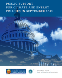 Public Support for Climate and Energy Policies: September 2012