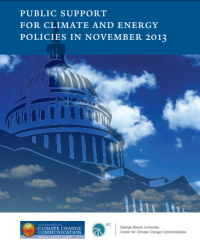 Public Support for Climate and Energy Policies: November 2013