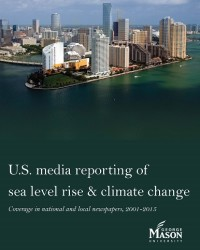 U.S. Media Reporting of Sea Level Rise and Climate Change: Coverage in National and Local Newspapers, 2001-2015