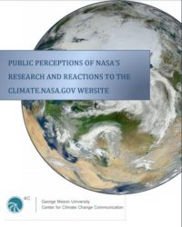 Public Perceptions of NASA's Research and Reactions to the Climate.NASA.gov Website