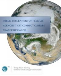 Perception of Federal Agencies that Conduct Climate Change Research