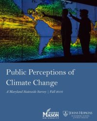 Public Perceptions of Climate Change: A Maryland Statewide Survey, Fall 2016