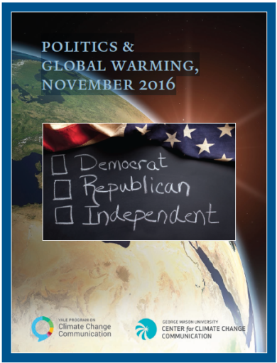 Politics & Global Warming: November 2016