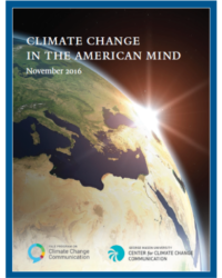 Climate Change in the American Mind: November 2016