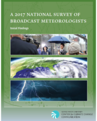 A 2017 national survey of broadcast meteorologists