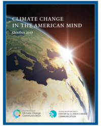 Climate Change in American Mind: October 2017