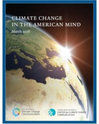 Climate Change in the American Mind: March 2018