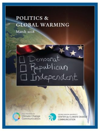 Politics & Global Warming: March 2018