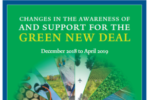 Changes in Awareness of and Support for the Green New Deal