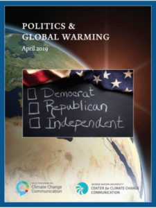 Politics & Global Warming: April 2019