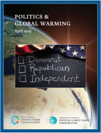 Politics & Global Warming: April 2019