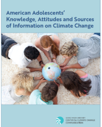 American Adolescents' Knowledge, Attitudes and Sources of Information on Climate Change