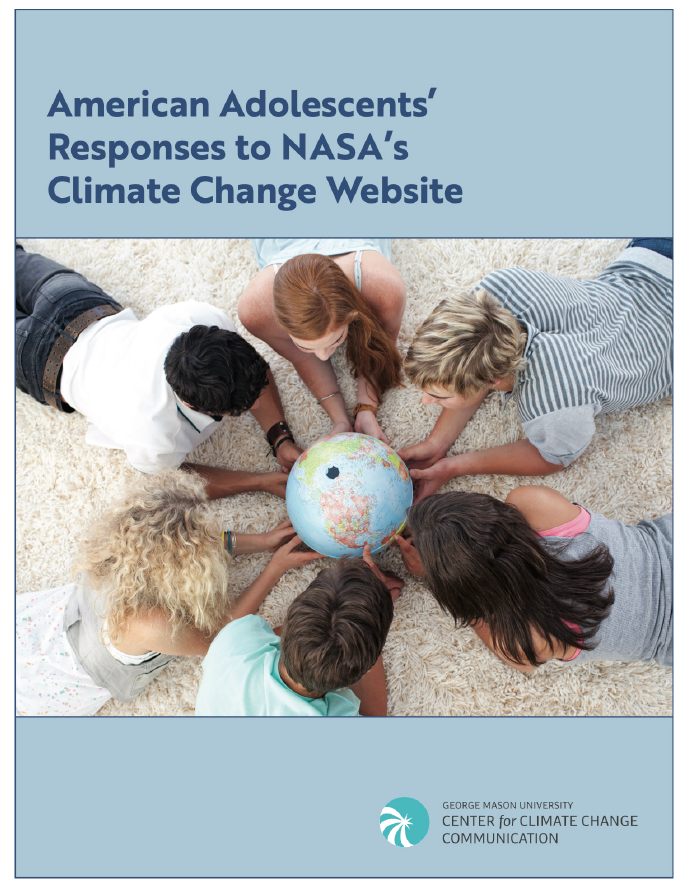 American Adolescents' Responses to NASA's Climate Change Website