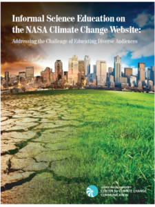 Informal Science Education on the NASA Climate Change Website