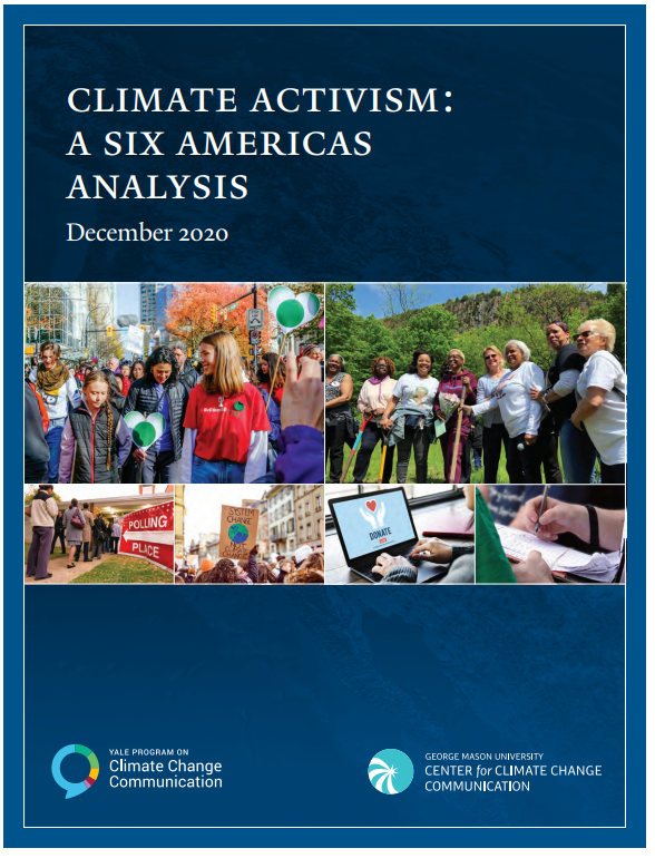 Climate Activism: A Six Americas Analysis, December 2020