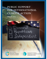 Public Support for International Climate Action: March 2021