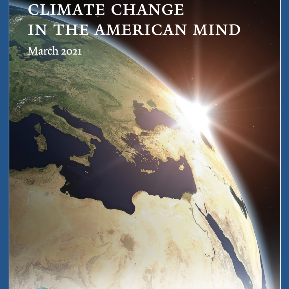 Climate Change in the American Mind, March 2021