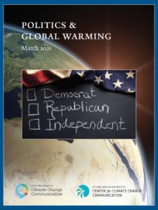 Politics & Global Warming, March 2021