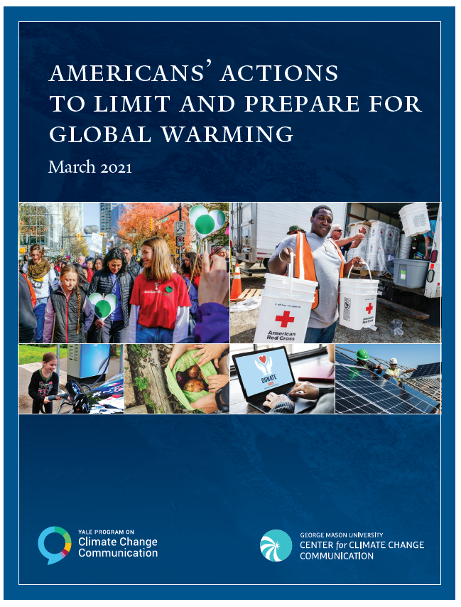 Americans' actions to limit and prepare for global warming
